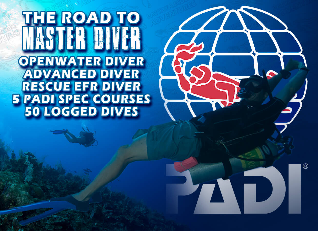 Master scuba diver speciality diver pattaya scuba adventures how much does it cost xflitez Gallery
